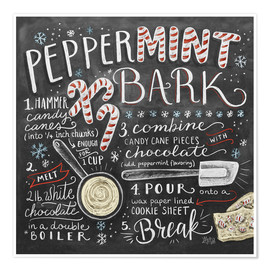 Poster  Peppermint Bark - Lily & Val