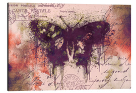Alubild  Crazy Butterfly - Andrea Haase