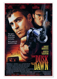 Premium-Poster From Dusk Till Dawn