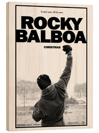 Holzbild  Rocky Balboa - Entertainment Collection