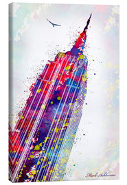Leinwandbild  Empire State Building - Mark Ashkenazi