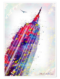 Premium-Poster  Empire State Building - Mark Ashkenazi