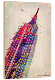 Holzbild  Empire State Building - Mark Ashkenazi