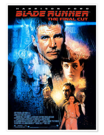 Premium-Poster  Blade Runner (Englisch) - Entertainment Collection