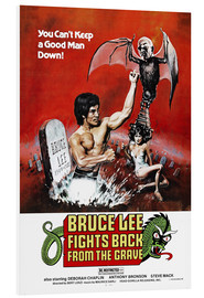 Hartschaumbild  Bruce Lee Fights Back from the Grave - Entertainment Collection