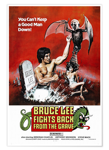 Premium-Poster Bruce Lee Fights Back from the Grave