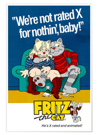 Premium-Poster  Fritz the Cat - Entertainment Collection