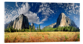 Acrylglasbild  Yosemite Valley - El Capitan - Michael Rucker
