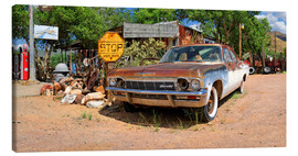 Leinwandbild  Route66- Alter Chevrolet Impala - Michael Rucker