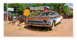 Poster Route66- Alter Chevrolet Impala