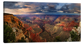 Leinwandbild  Grand Canyon Blick - Michael Rucker