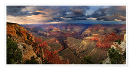 Poster  Grand Canyon Blick - Michael Rucker