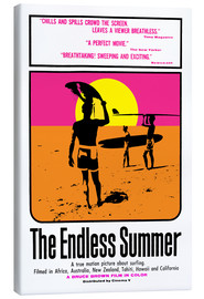 Leinwandbild  The Endless Summer - Entertainment Collection