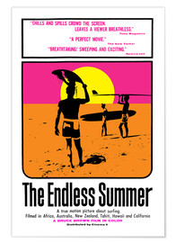 Premium-Poster  The Endless Summer - Entertainment Collection