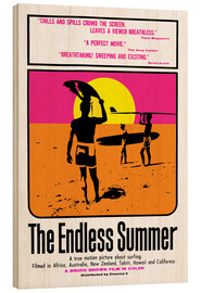 Holzbild  The Endless Summer - Entertainment Collection