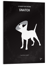 Acrylglas  No079 My Snatch minimal movie poster - chungkong