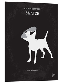 Hartschaumbild  No079 My Snatch minimal movie poster - chungkong