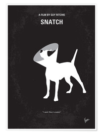 Premium-Poster  No079 My Snatch minimal movie poster - chungkong