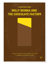 Premium-Poster Willy Wonka And The Chocolate Factory
