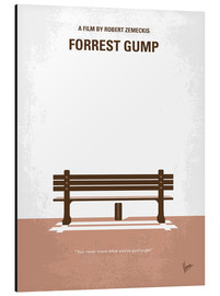 Alubild  No193 My Forrest Gump minimal movie poster - chungkong