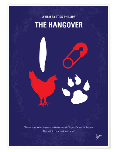Premium-Poster The Hangover