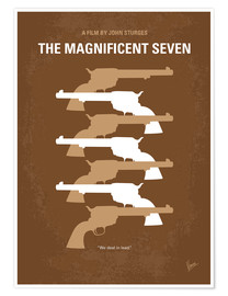 Premium-Poster The Magnificent Seven
