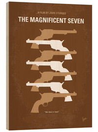 Holzbild  The Magnificent Seven - chungkong