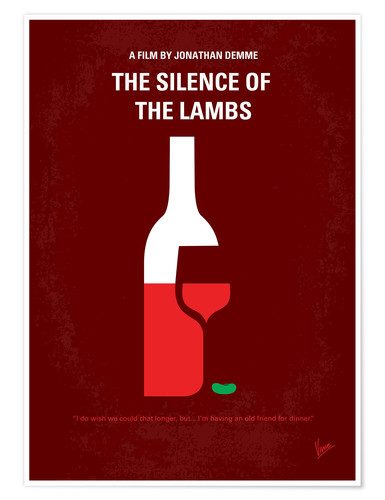 Premium-Poster The Silence Of The Lambs
