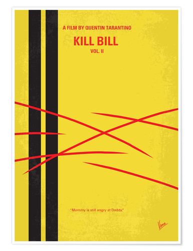 Premium-Poster Kill Bill Vol. II