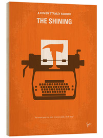 Holzbild  No094 My The Shining minimal movie poster - chungkong