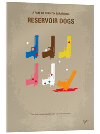 Acrylglas  No069 My Reservoir Dogs minimal movie poster - chungkong