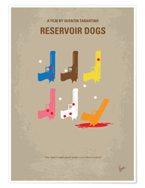 Premium-Poster No069 My Reservoir Dogs minimal movie poster
