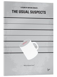 Acrylglas  No095 My The usual suspects minimal movie poster - chungkong