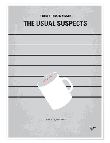 Premium-Poster The Usual Suspects