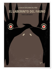 Poster No061 My Pans Labyrinth minimal movie poster
