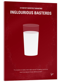 Acrylglas  No138 My Inglourious Basterds minimal movie poster - chungkong