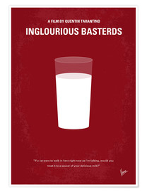 Poster No138 My Inglourious Basterds minimal movie poster