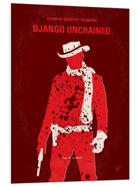 Forex  No184 My Django Unchained minimal movie poster - chungkong