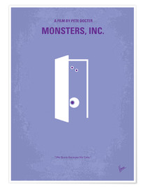 Premium-Poster Monsters, Inc.