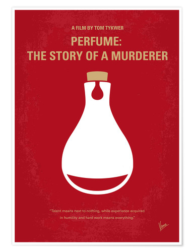 Premium-Poster Perfume: The Story Of A Murderer