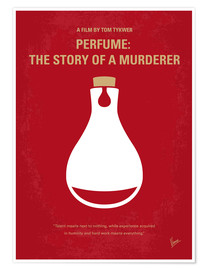 Poster No194 My Perfume The Story of a Murderer minimal movie poster