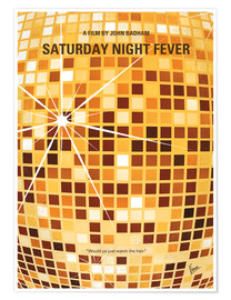 Premium-Poster Saturday Night Fever