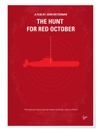 Premium-Poster  The Hunt For Red October - chungkong