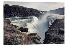 Acrylglasbild  Gulfoss - Images Beyond Words