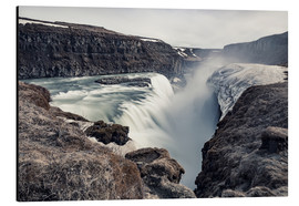 Alubild  Gulfoss - Images Beyond Words