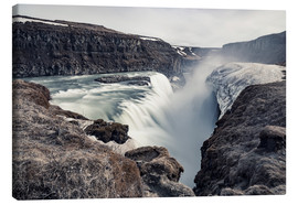 Leinwandbild  Gulfoss - Images Beyond Words