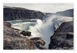 Premium-Poster  Gulfoss - Images Beyond Words