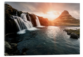 Acrylglasbild  Kirkjufell - Images Beyond Words