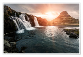 Premium-Poster  Kirkjufell - Images Beyond Words
