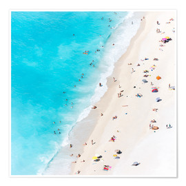 Premium-Poster  Sommer am Strand, Griechenland - Matteo Colombo